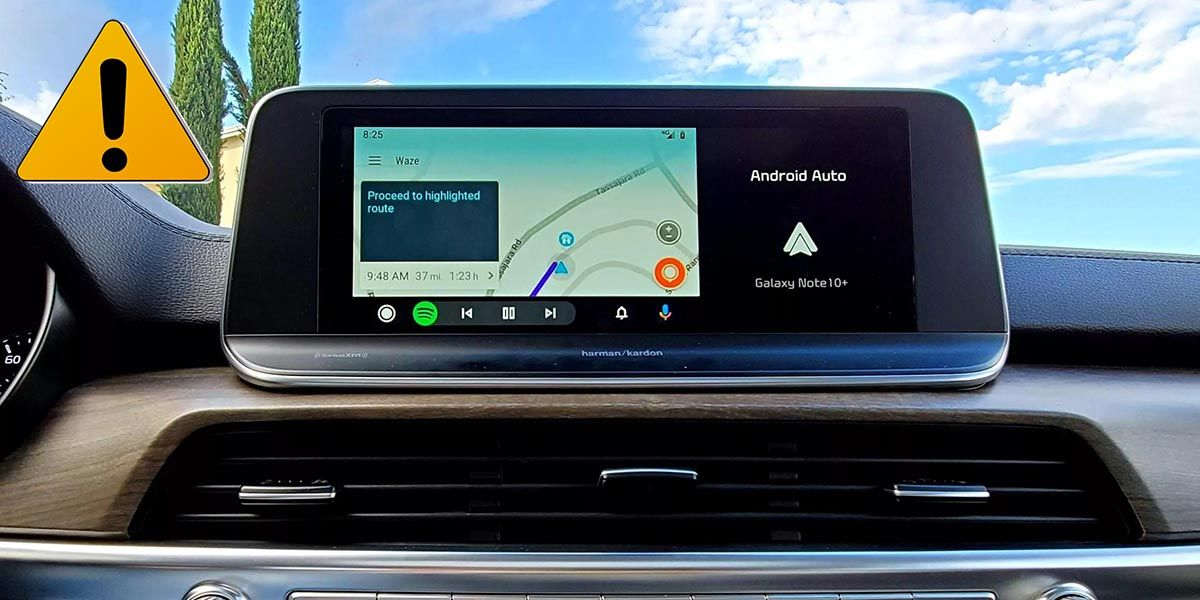 android auto peligro