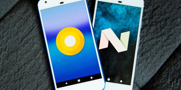 android distribucion datos actualizados