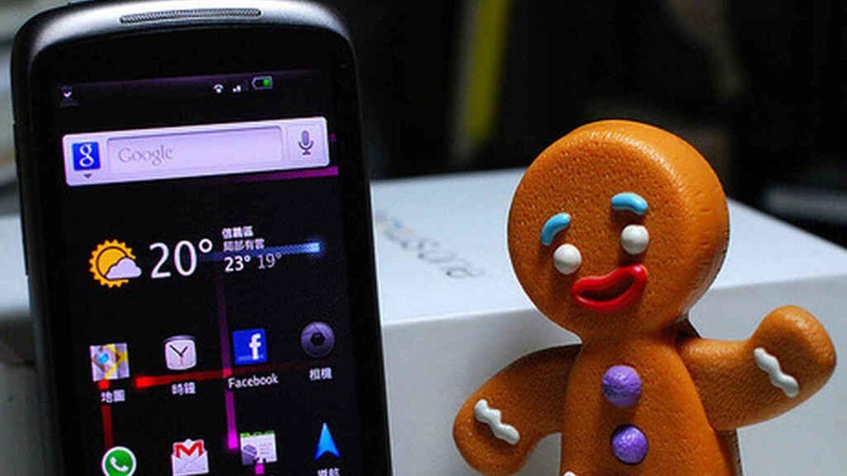 android gingerbread no pueden usar cuentas de google