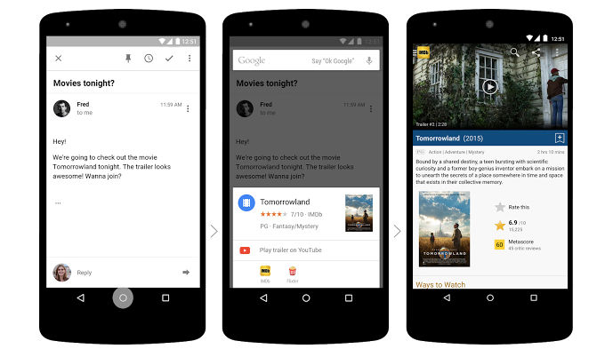 Cómo activar o desactivar Google Now on Tap