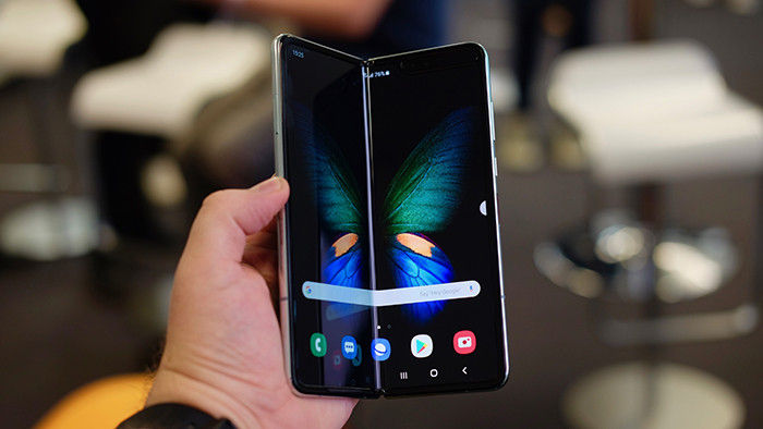 android movil flexible galaxy fold