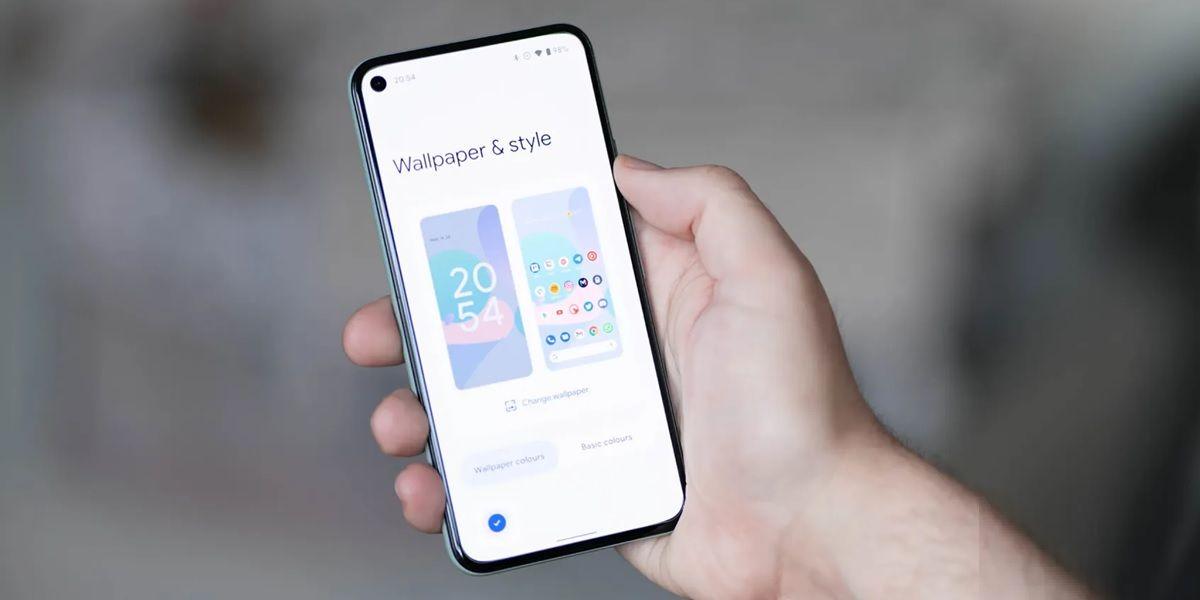 android 12 no permitira cambiar la fuente ni los iconos