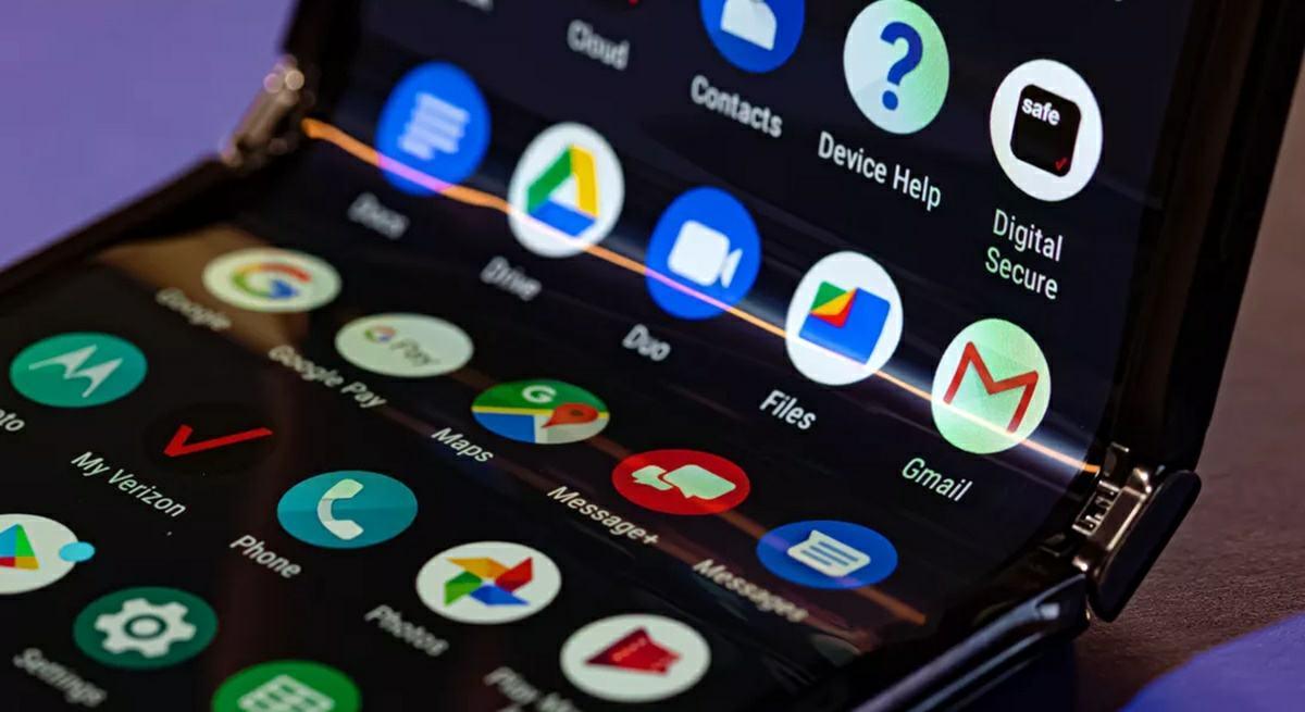 android pantalla plegable