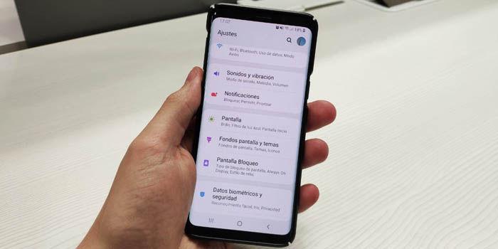 android pie samsung galaxy s9 plus actualizacion