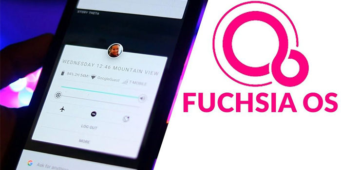 android reemplazado fuchsia