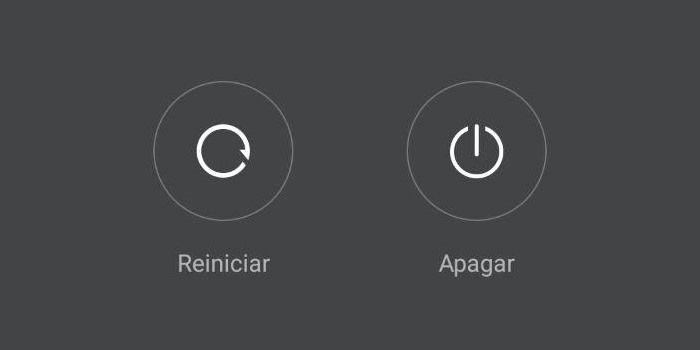 android reiniciar