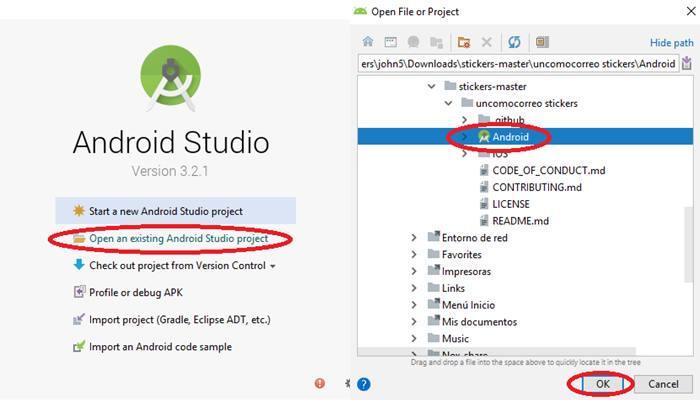 android studio sincronizar