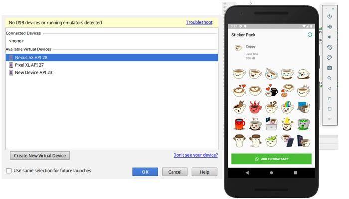 android studio verificar funcionamiento