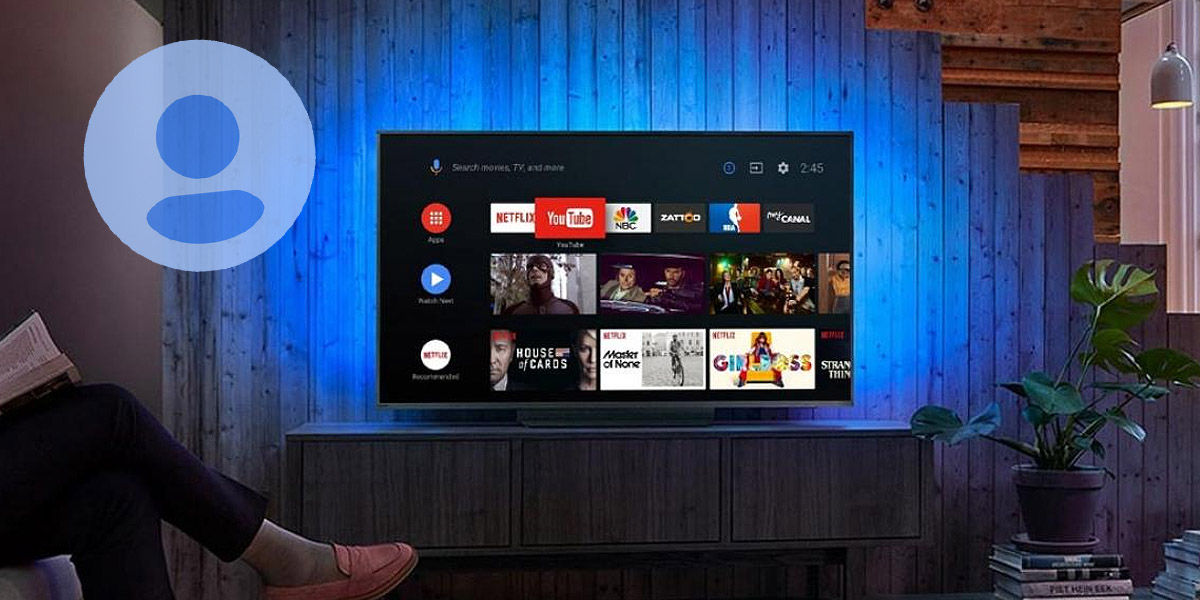 android tv deberia ofrecer varios perfiles de usuario