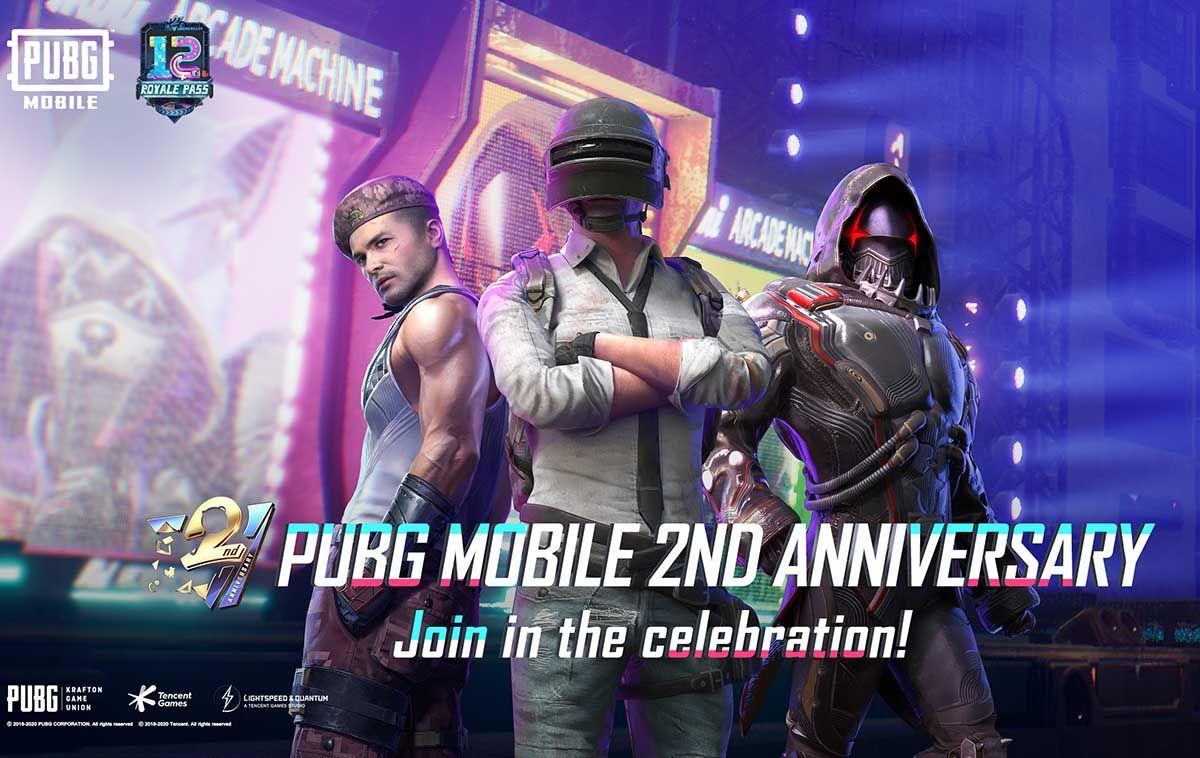 aniversario pubg mobile actualizacion