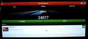 antutu Android TV Box M8 Amlogic s802