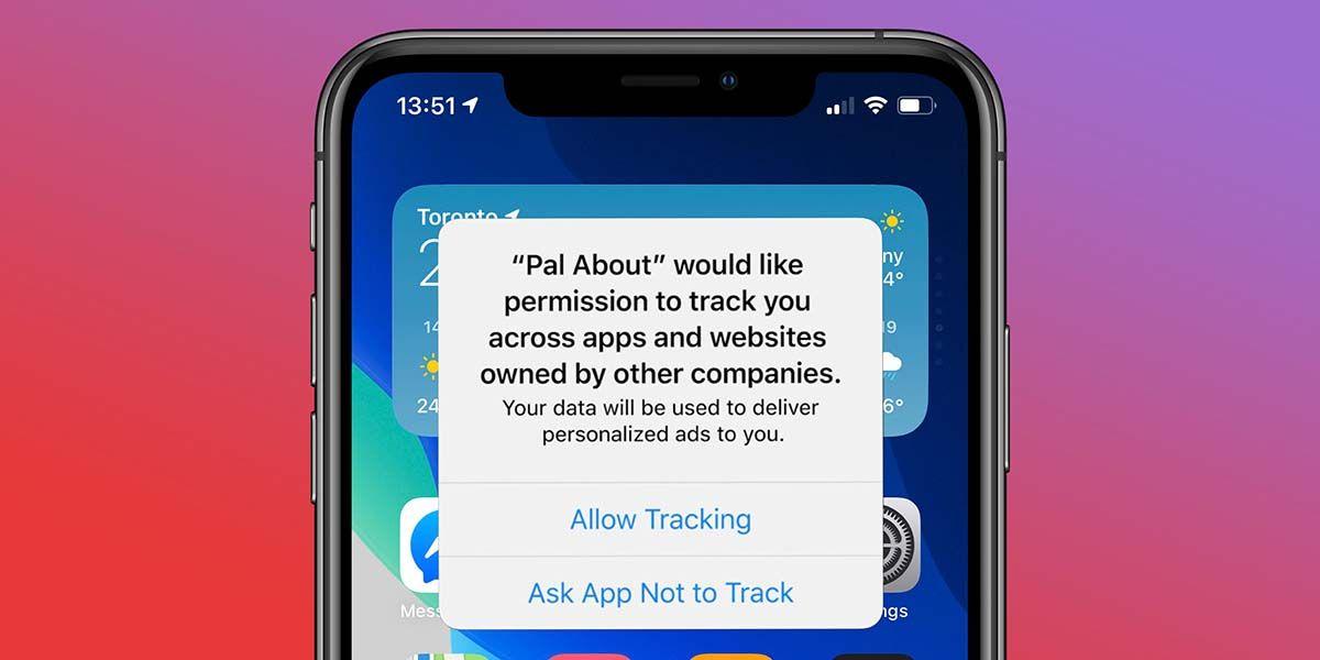 anuncio permitir o negar tracking ios 14 privacidad anuncios de facebook