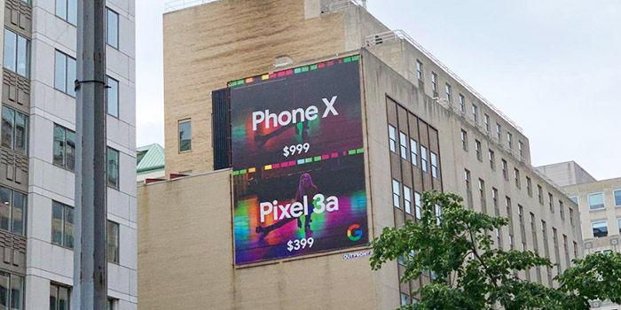 anuncio pixel 3a burla iphone x