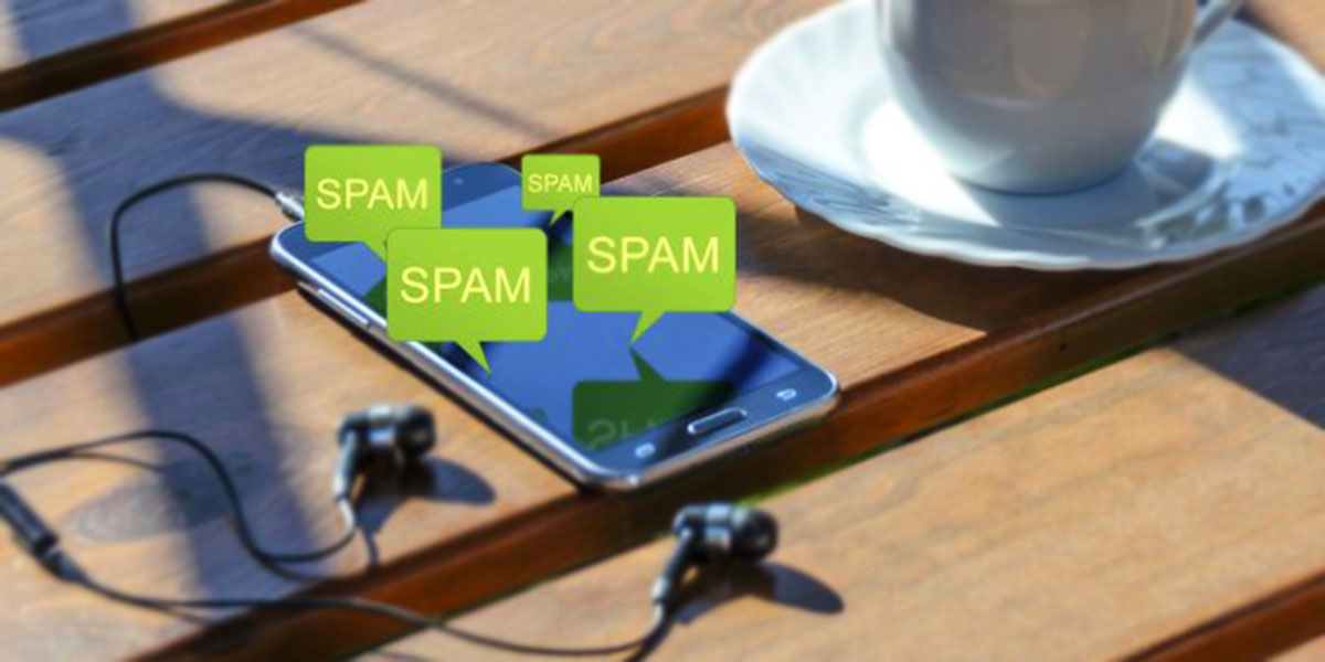 spam en android