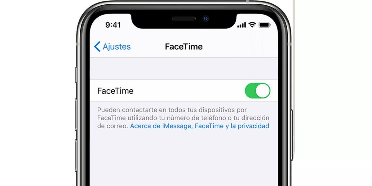 apaga facetime iphone ios