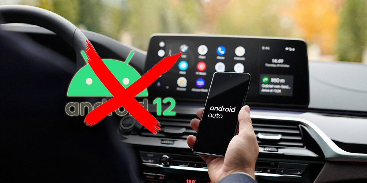 Android Auto Android 12