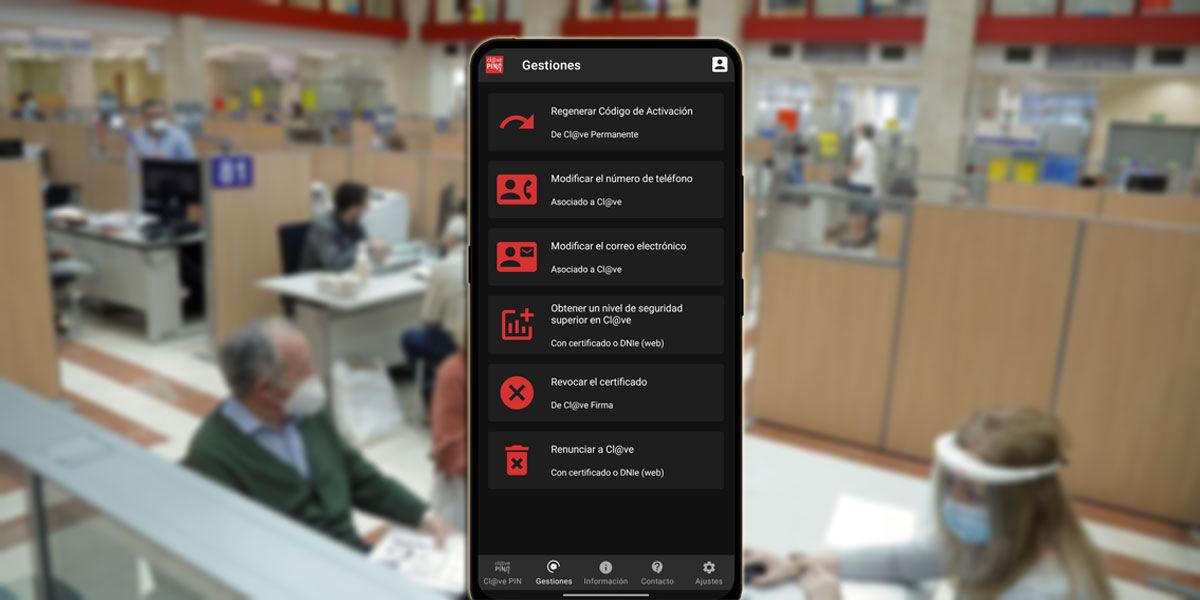 Configurar app Clave PIN
