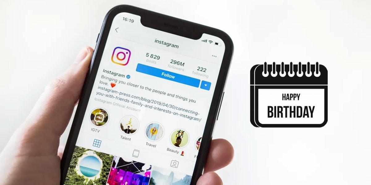 instagram cumpleaños