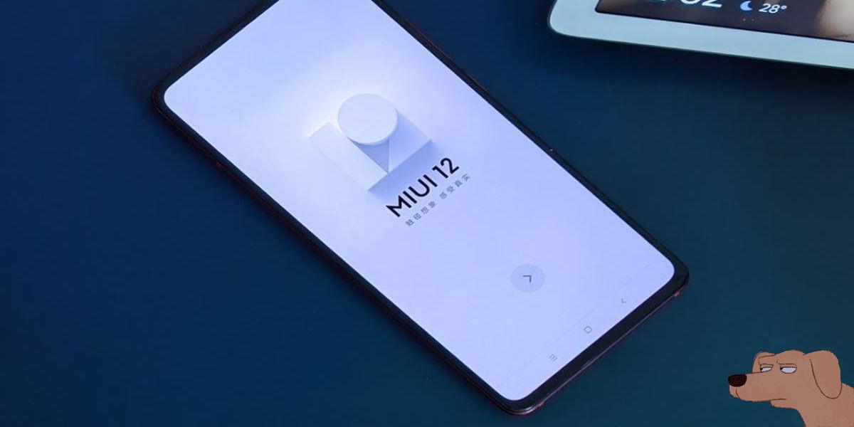 MIUI 12 Xiaomi Redmi 6