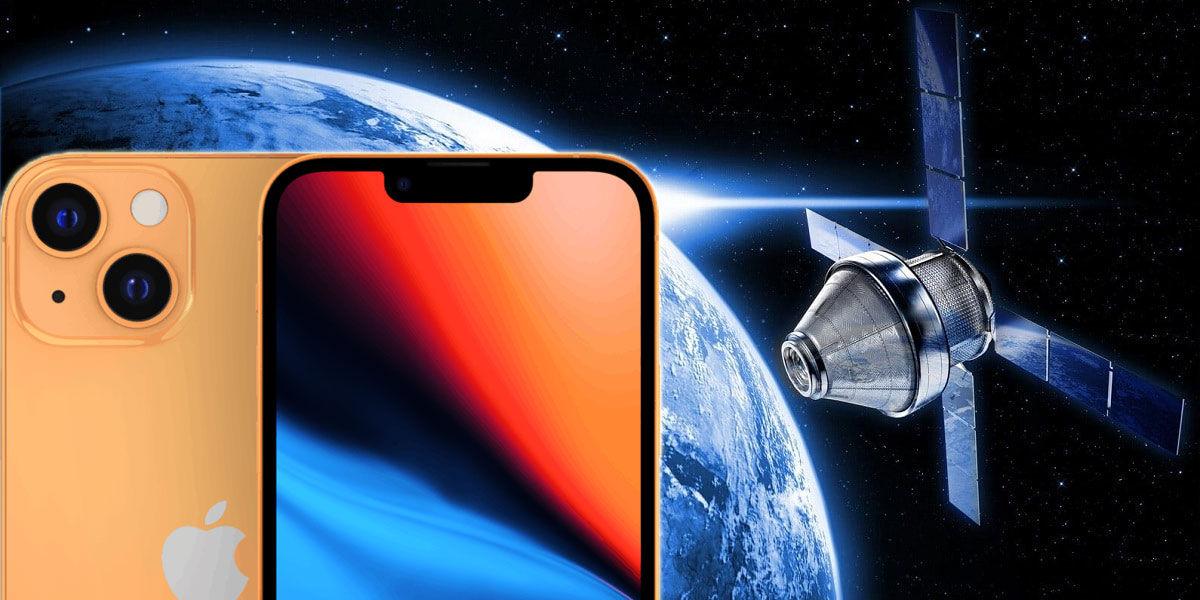 iPhone conexión satélite