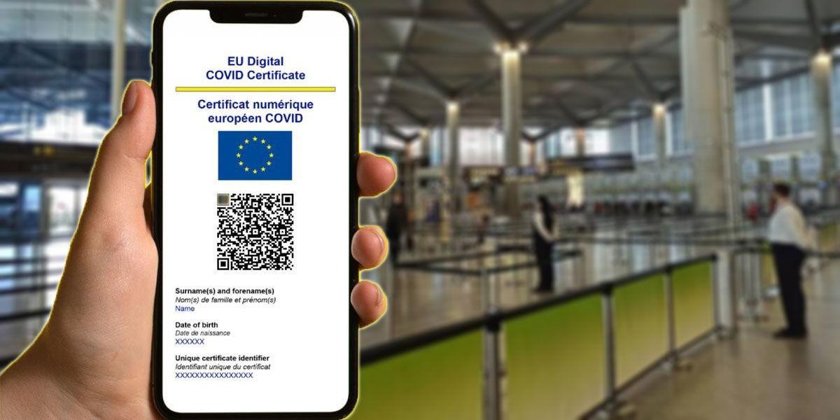Cómo solicitar certificado COVID EU