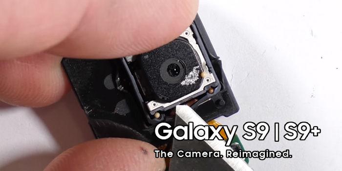 apertura variable camara galaxy s9 funcionamiento