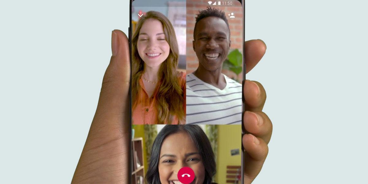 WhatsApp videollamadas grupales