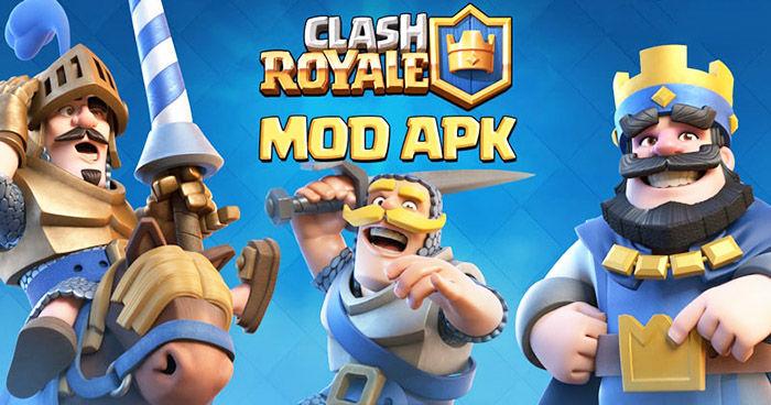 apk clash royale mod