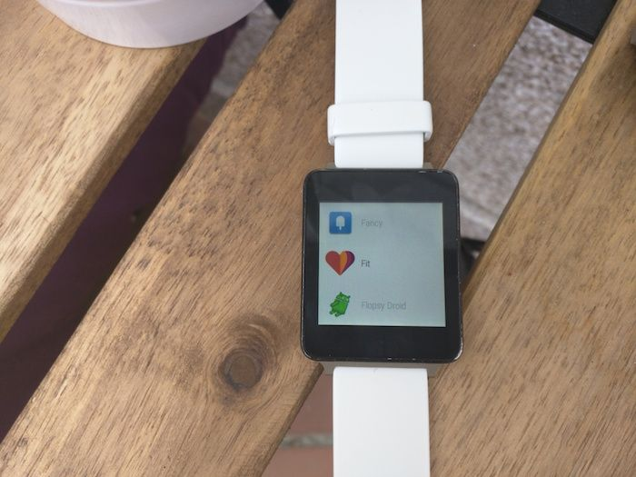 aplciaciones android wear