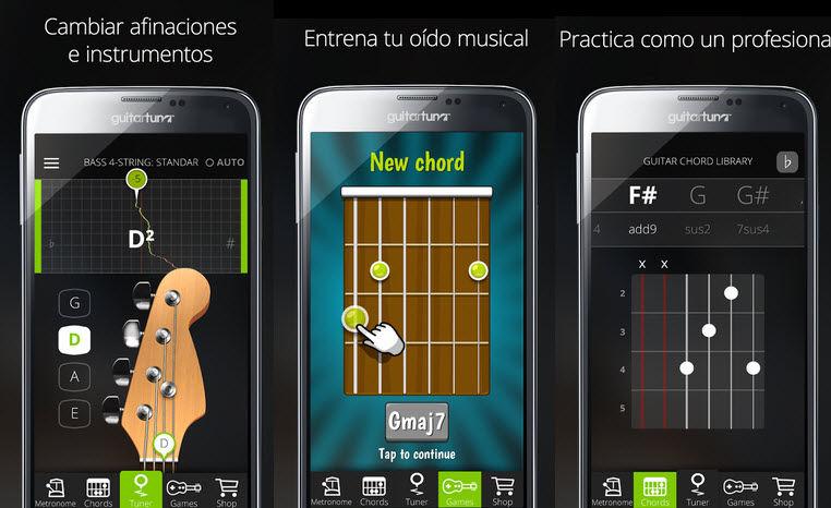 aplicacion afinar guitarra android guitartuna1