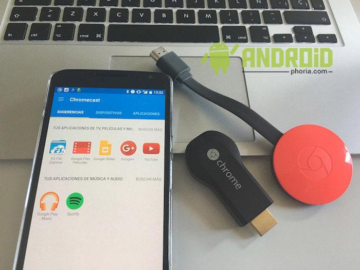 aplicacion chromecast