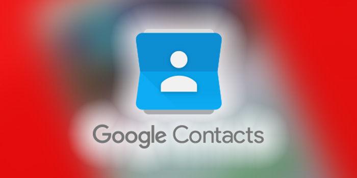 aplicacion contactos google interfaz material design