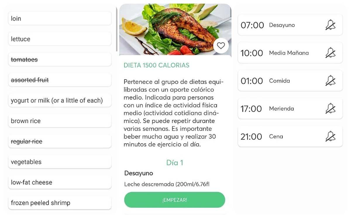 aplicacion dietas para adelgazar descargar operacion bikini 2020