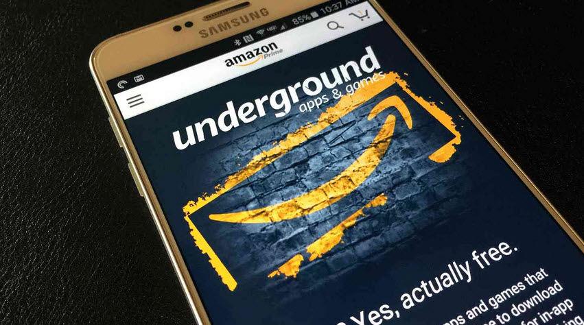 aplicaciones de pago gratis amazon underground