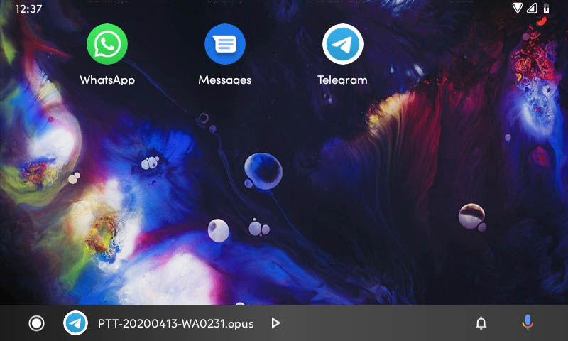 aplicaciones mensajeria android auto 6