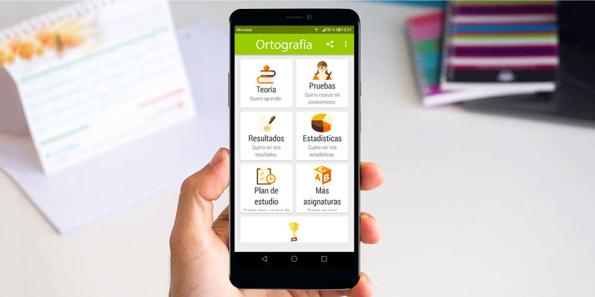 Aplicaciones de Android para mejorar la ortografía en Android