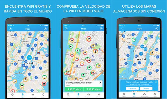 aplicaciones para acceder a redes wifi gratis