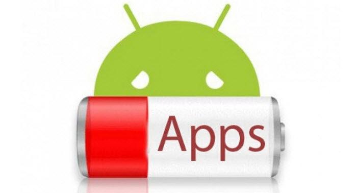 aplicaciones que mas bateria consumen