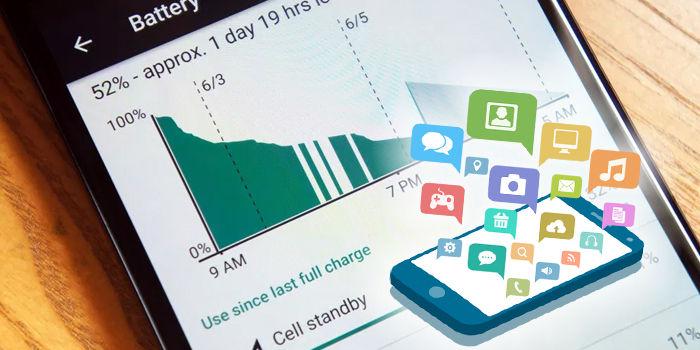 aplicaciones que mas bateria gastan movil
