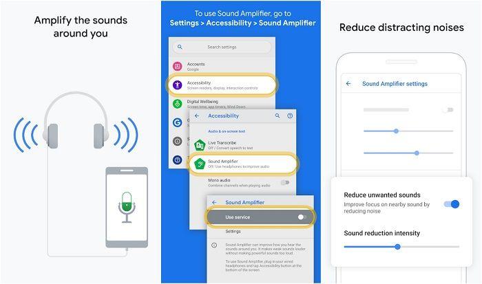 app amplificador sonido