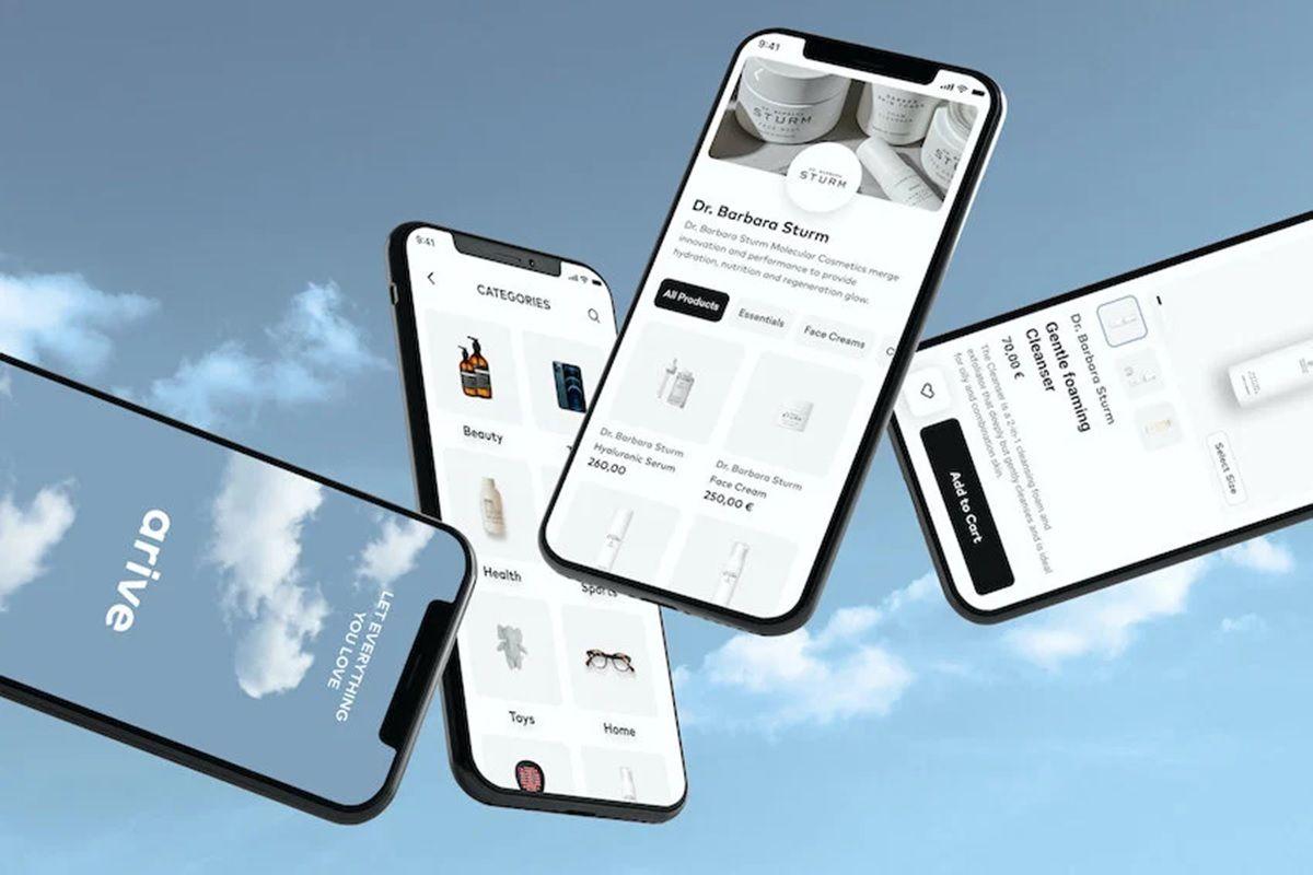 app arive entrega rapida de productos premium