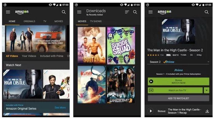 app de Amazon Prime Video espanol
