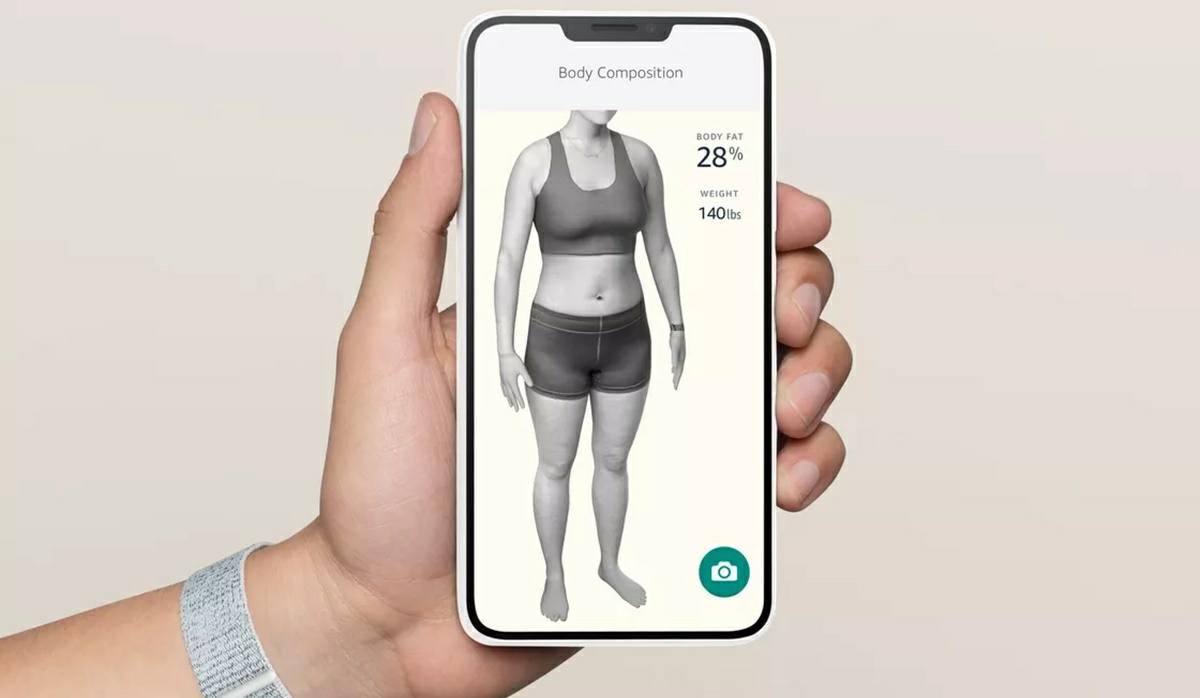 app de amazon halo modelo 3d de tu cuerpo