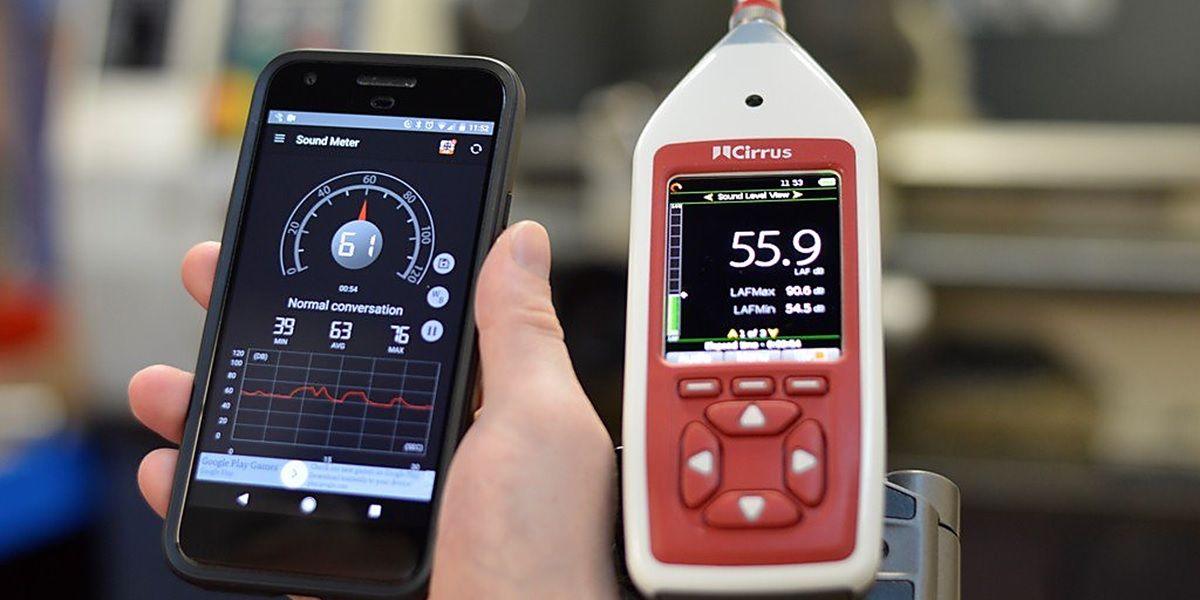 app medidor de decibelios para android