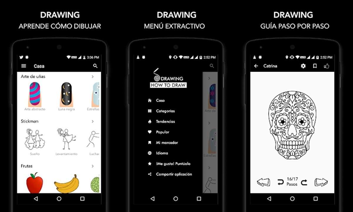 app para aprender como dibujar