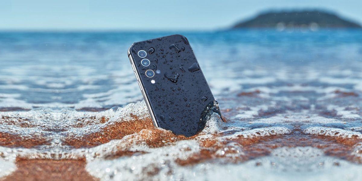 app para comprobar resistencia agua de smartphone