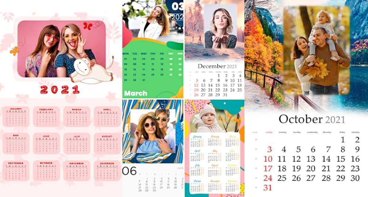 app para crear calendarios 2021