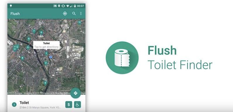 app para encontrar aseo en android