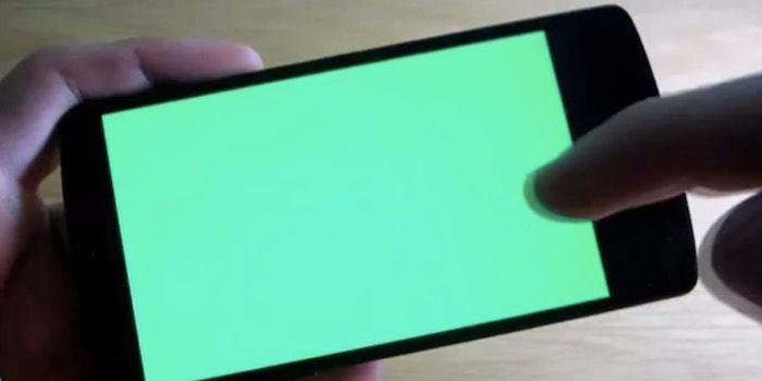 app reparar pantalla quemada android