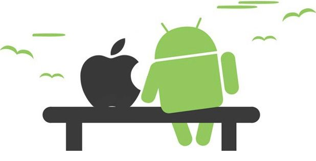 Fusion de Apple y Android